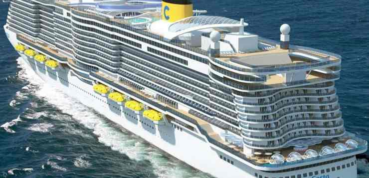 Costa Cruises Holds Coin Ceremony for Costa Smeralda