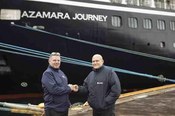 Azamara Journey Meets Sister Ship Azamara Pursuit During Its Maiden Voyage | 7
