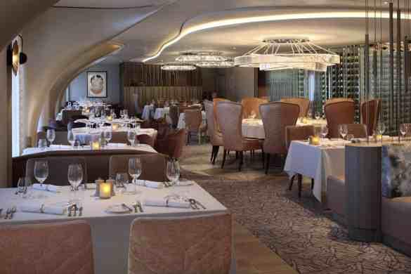 Cosmopolitan Restaurant - Deck 4 Aft Portside  Celebrity EDGE - Celebrity Cruises