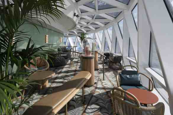 Eden Balcony - Deck 6 Aft Celebrity EDGE - Celebrity Cruises