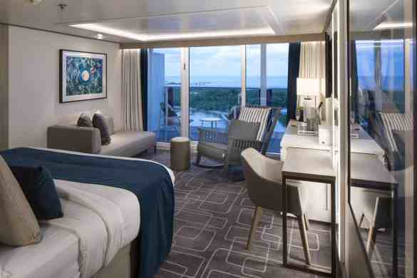 Sky Suite Cat. S2 - Room #10111 Deck 10 Forward Portside Celebrity EDGE - Celebrity Cruises