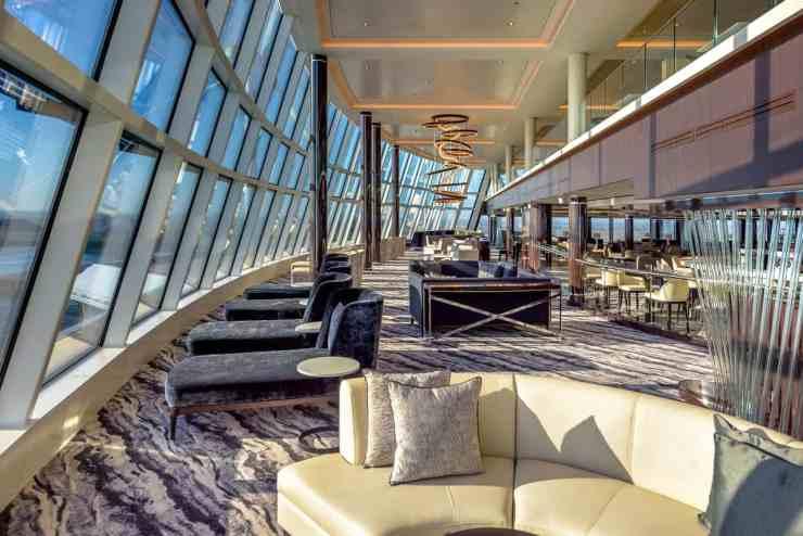 Norwegian Bliss's Observation Lounge