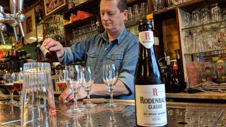 Belgian beers in Antwerp
