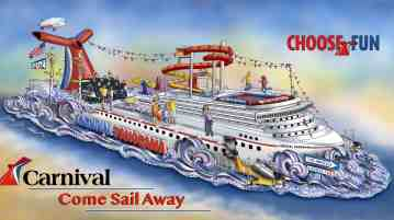 Carnival Cruise Line To Celebrate Carnival Panorama With Rose Parade Float