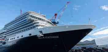 Holland America Line Takes Delivery of Nieuw Statendam