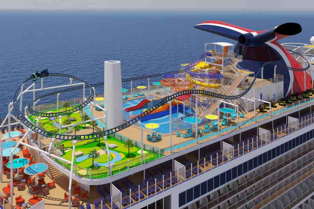 The Ultimate Playground aboard Carnival Mardi Gras.