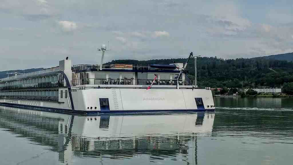 AmaWaterways AmaMagna on the Danube River