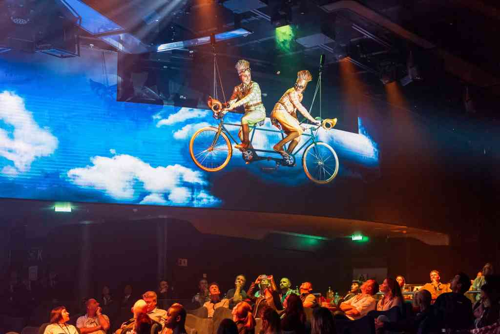 Cirque du Soleil at Sea shows