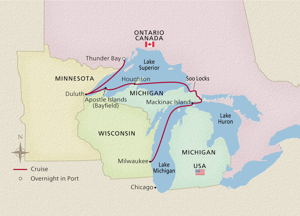 Undiscovered Great Lakes