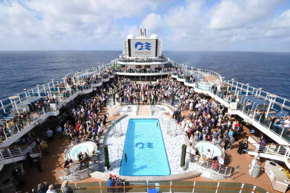 Royal Princess vow renewal ceremony 2020