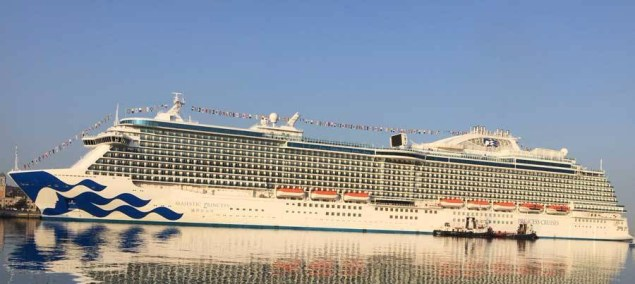 majestic princess will join four other princess ships on the us west coast
