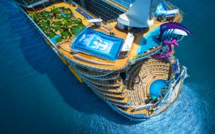 symphony of the seas was mid-way through a week-long caribbean cruise at the time of the incident