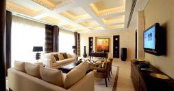 dubai-hotels-raffles-dubai-presidential-suite-earth-living-room
