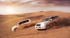 a dubai desert safari is one of the key attractions in an arabian gulf cruise