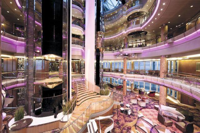 marella cruises discovery atrium