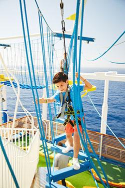 carnival ropes kids