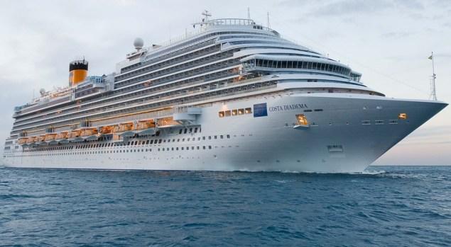 costa diadema will homeport in dubai from november, 2019 to march, 2020
