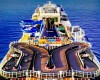 top deck activites on norwegian cruise line ships bliss race track