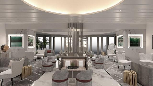 celebrity retreat lounge