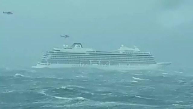 norwegian ship viking sky evacuation