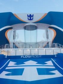 flowrider surf simulator and ripcord skydive simulator aboard spectrum of the seas