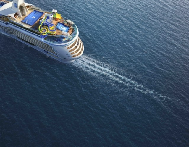 freedom of the seas new slides