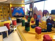 kids' lego room aboard msc bellissima