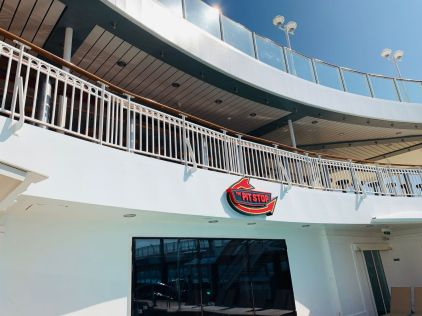 the pit stop above the pool deck on norwegian jade