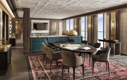 expedition lounge aboard crystal endeavour