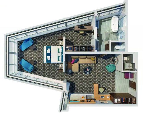 ultimate panoramic suite layout