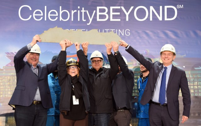 celebrity beyond steel cutting