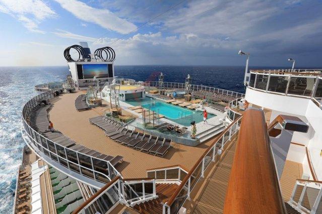 msc seaview panorama pool deck