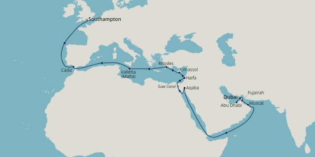 fredolsen borealis dubai cruise 2022