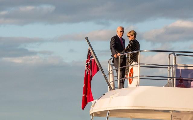 joe biden yacht