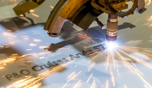 po arvia steel cutting