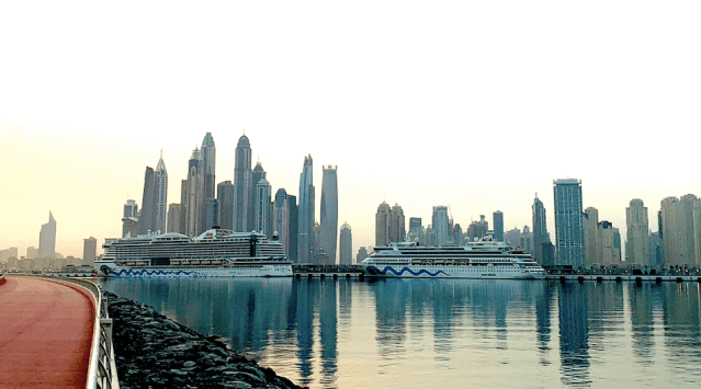 dubai harbour cruise terminal
