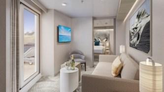 forward facing suite aboard norwegian prima