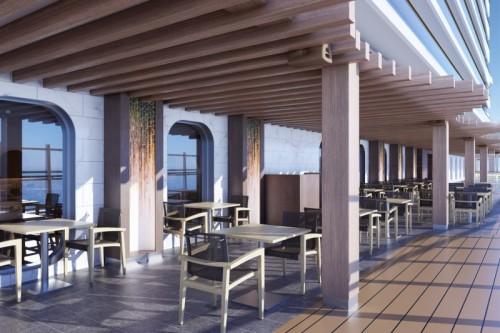 onda by scarpetta outdoor seating aboard norwegian prima