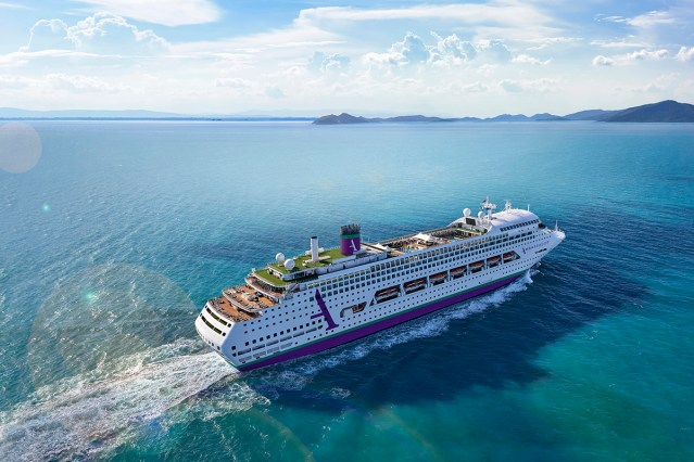 ambassador cruise line first ship ambiance will be the former pacific dawn