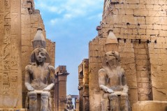 egypt is fast re-emerging as a cruise destination, with the ruins of luxor in particular demand