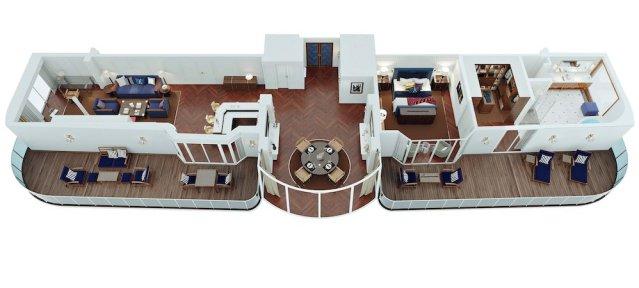 owners suite oceania vista