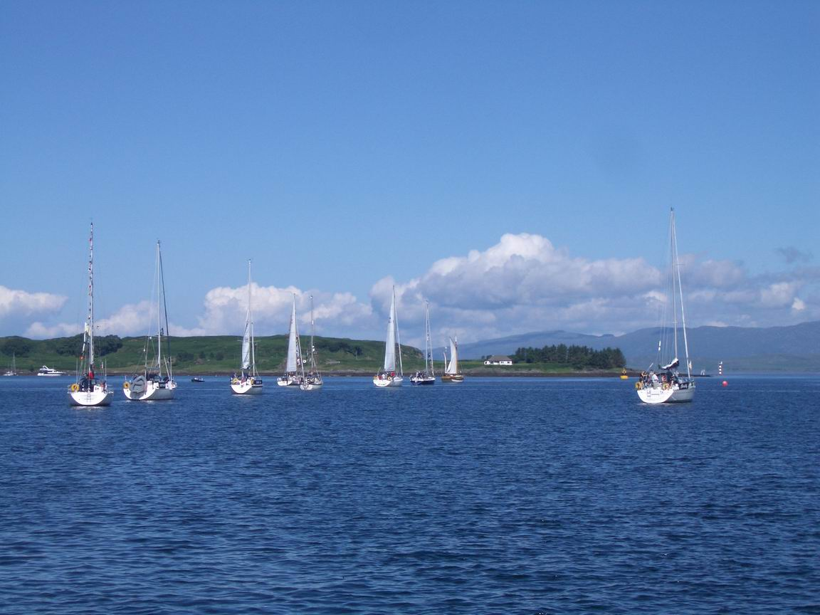 Weekend Sailing holidays and yacht charter from Oban