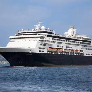 25-daagse cruise Dubbele Middellandse Zee cruise met het MS Veendam met ms VeendamDag 1 Barcelona