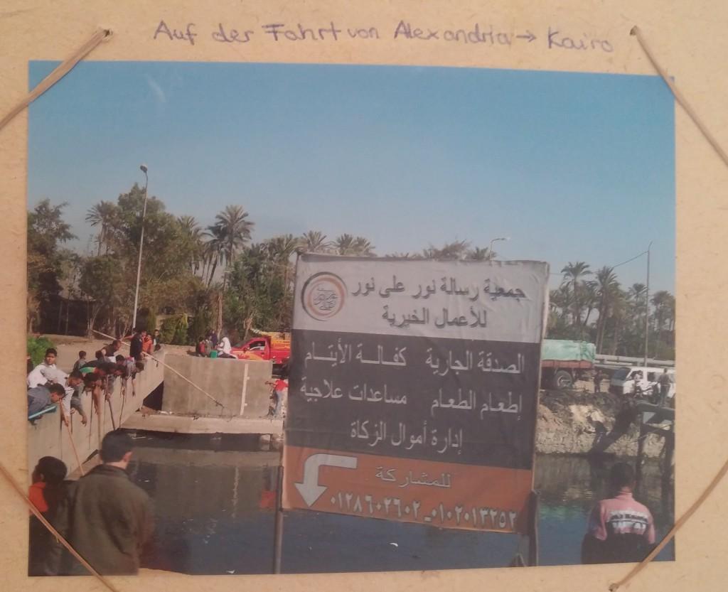 Aufnahme von Alexandria aus einem Fotoalbum