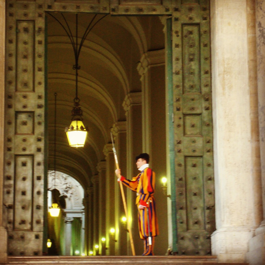 Schweizer Garde Rom St. Peter's Basilica