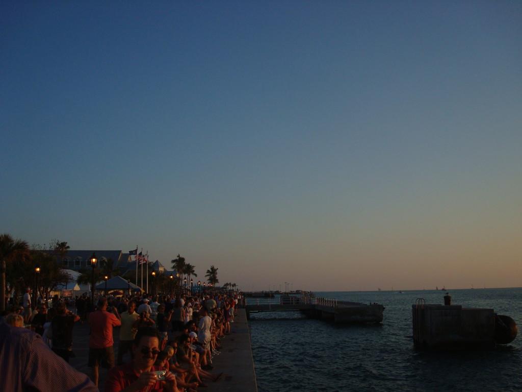 Key West Sonnenuntergang Mallory Square