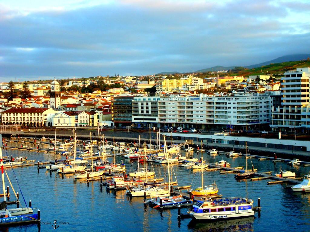 Hafen Ponta Delgada Azoren