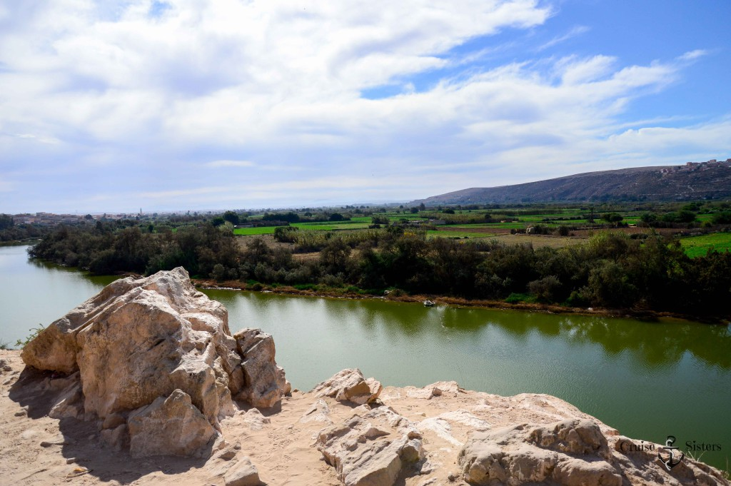 Fluss im Nationalpark in Agadir in Marokko