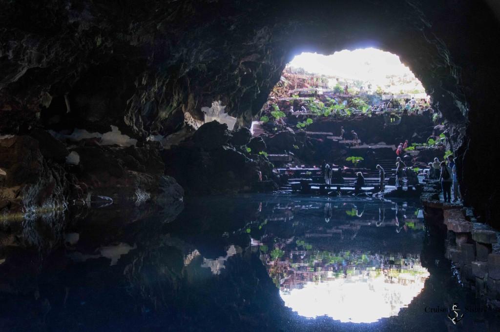 Die Höhle Jameos del Agua auf Lanzarote