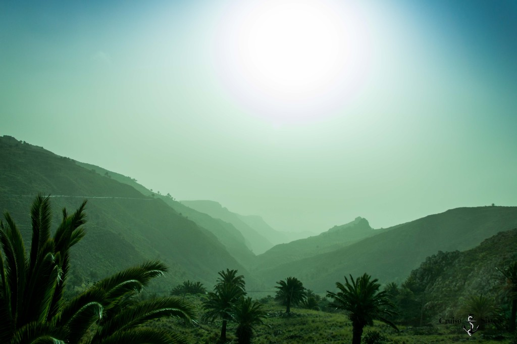 Nebel in La Gomera